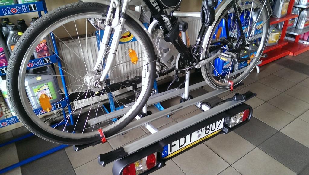 Menabo dviračių laikikliai Šiauliuose