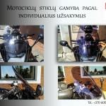 Motociklų stiklų gamyba , prekyba , stiklai motociklams