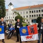 Šiaulių miesto vėliavų įteikimas Polingės komandoms