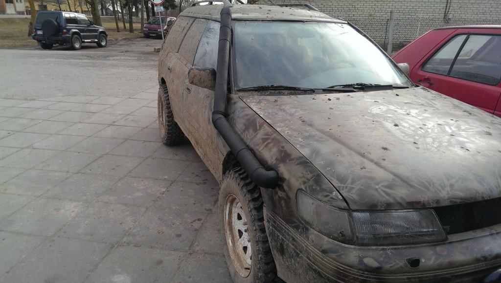 Subaru paruošimas bekeliai