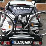 Trijų dviračių laikiklis MENABO WINNY PLUS